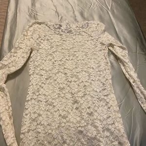 Full lace fitted top